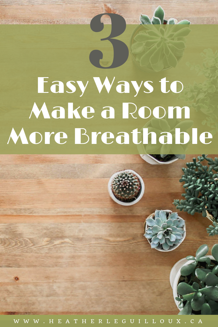 Experiencing a runny nose or itchy eyes? You might be experiencing a reaction to allergens in the air floating around your room! Luckily, there are some simple ways to clean the air. This article will help you learn 3 easy ways to make a room more breathable and a create a healthier environment that you will want to hang out in! Strategies mentioned include adding plants, trying out an air purifier and using aromatherapy. Click to learn more! #plants #airpurifier #aromatherapy #cleanair