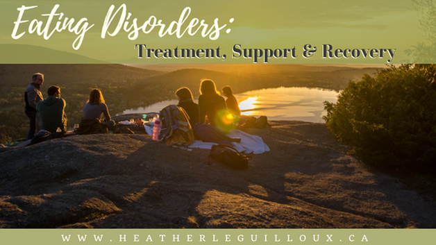 In this fifth and final article in a series focusing on eating disorders we will explore the treatment and support options that can help an individual diagnosed with an eating disorder to work towards recovery. We will also discuss the common occurrence of relapse during this process. Also includes a free printable to create a support network! #eatingdisorders #treatment #recovery #relapse