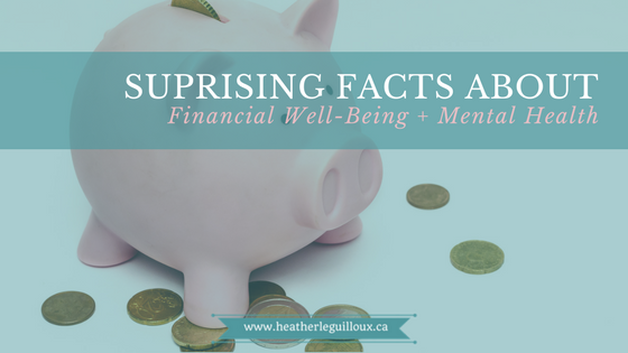 Blog post via @hleguilloux to help you learn about how your mental health may be impacted by your finances, questions to ask yourself about your financial well-being, and tips & resources to help you improve this area of your life. #finances #mentalhealth #resources