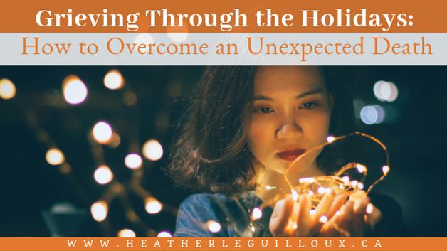 Losing a loved one is one of the most difficult experiences anyone can go through, and it can be especially painful during the holidays. As traumatic as the experience of loss can be, there are ways to get through it. Consider the four tips shared in this guest article in order to help you keep going over the holidays from an unexpected loss. #grief #loss #mentalhealth