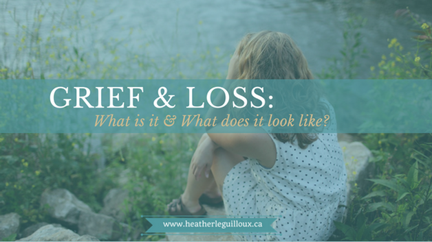 Second post in a blog series @hleguilloux on grief & loss explores the definition, causes and symptoms of grief caused by loss. Includes infographic and a video on The Science of Heartbreak. #grief #loss #mentalhealth
