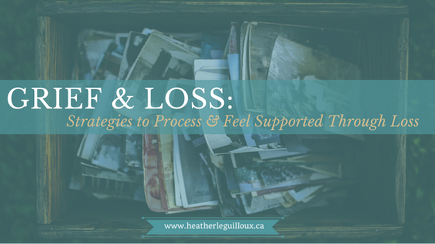 The fourth article on grief and loss will explore self-care strategies of processing a loss and give several examples of mourning strategies. Grief counselling and the benefits of grief support groups will also be highlighted. #grief #loss #mentalhealth