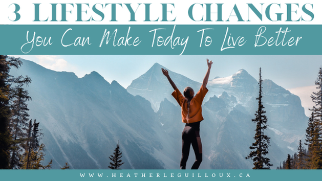 Do you ever feel like you are just plodding through life? Are you taking each day as it comes? Perhaps there are certain things holding you back? If any of this applies to you, then read on as there are certain lifestyle changes that you can make today that will give you a better quality of life moving forward. #lifestyle #changes #livebetter