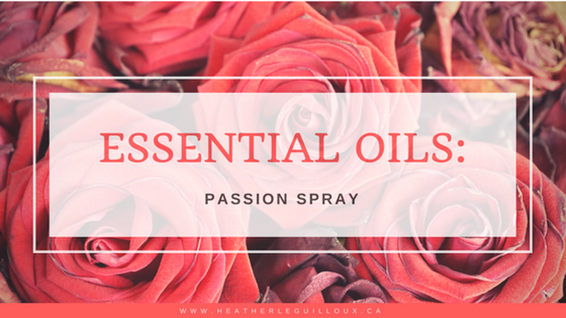 Learn how to create a room and linen spray using doTERRA's Passion Essential Oil. Increase the love and passion in your life with these easy do-it-yourself spray!
