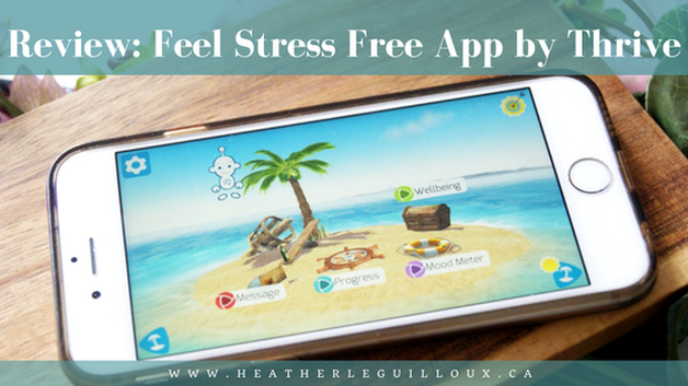 Review by @hleguilloux - The Feel Stress Free App by Thrive is an app that has been developed to detect, prevent and help manage common mental health conditions, such as #anxiety #review #app