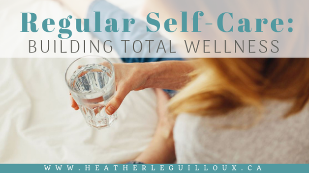 Once you have set up a support network and are receiving more help, the next step is to set up some self-care strategies to continue caring for your total wellness. Learn practical self-care strategies including getting more sleep, increasing your water, taking supplements, and brushing up on your oral health. #selfcare #health #wellness