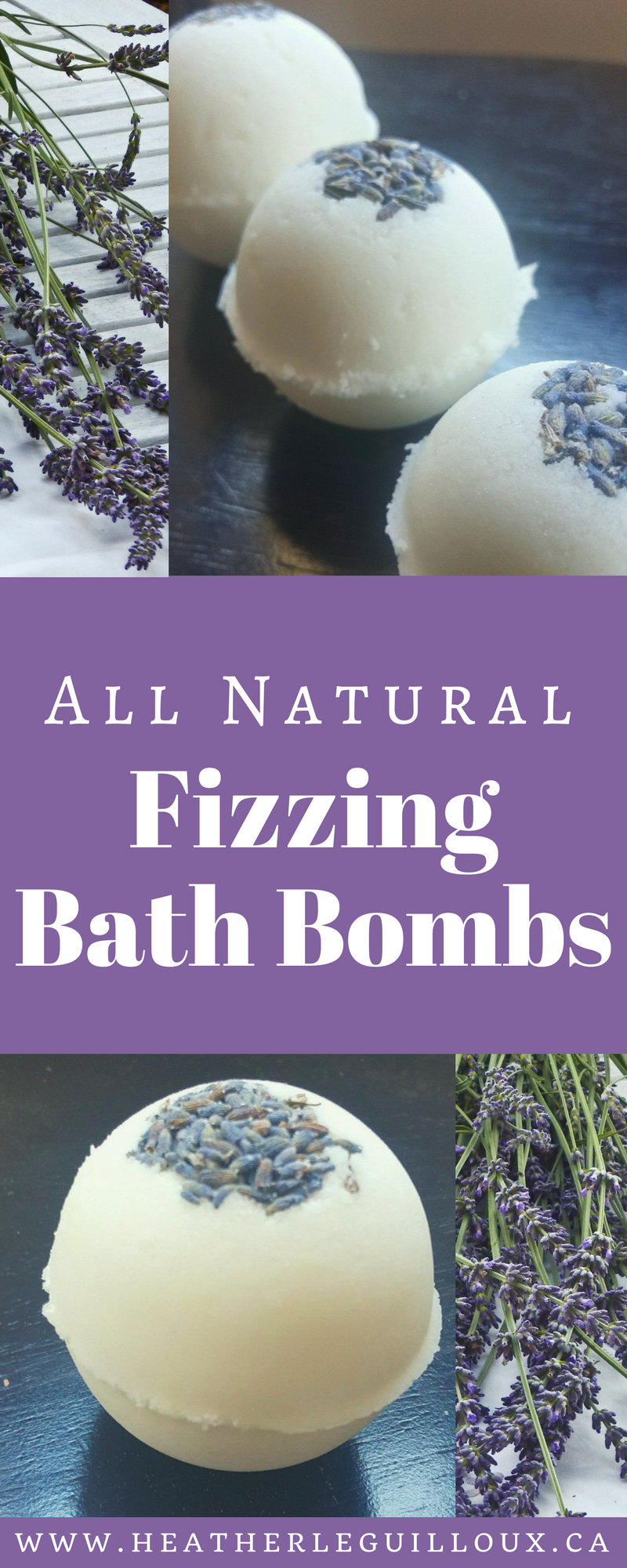These all natural fizzing bath bombs made with doTERRA Lavender Essential Oil are great to stock up for your own spa days or give as gifts.