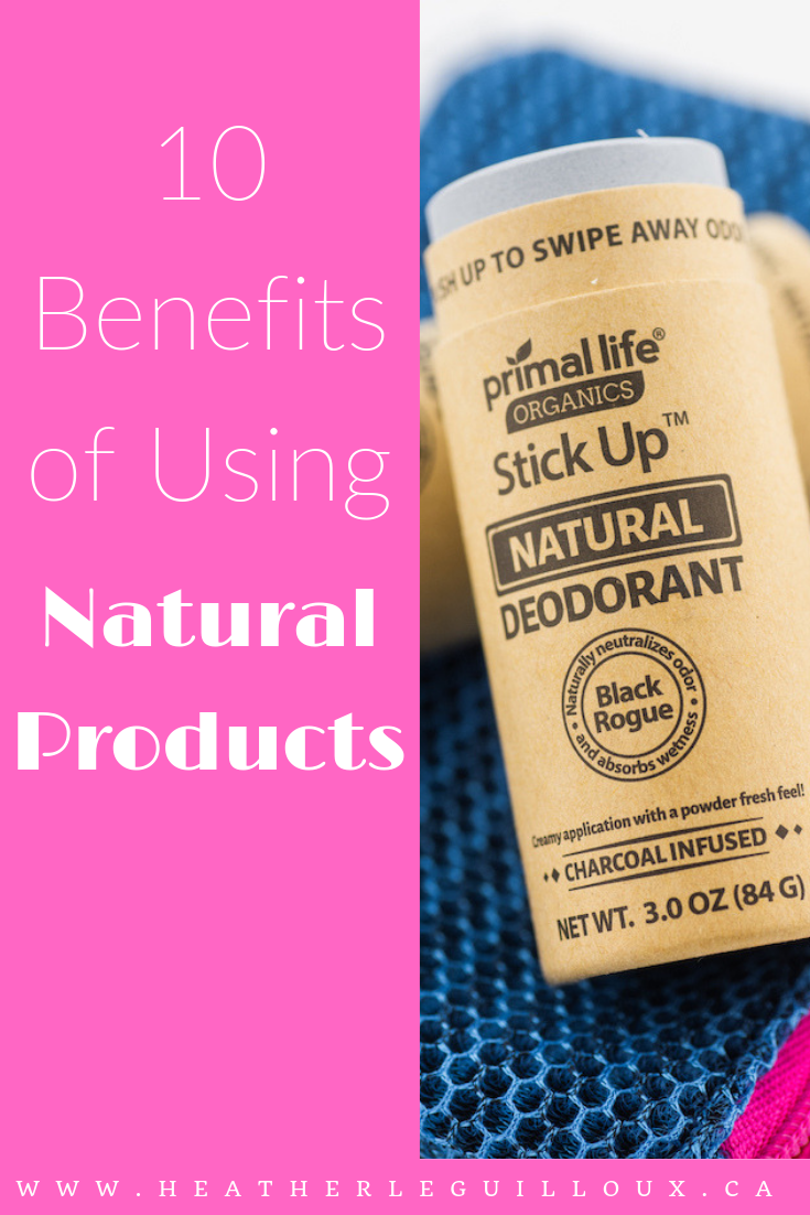 It's so important to take care of ourselves which includes our mind, body and spirit, and using natural products in the home or kitchen can be a great start to treating ourselves right.. not to mention taking better care of the environment! This article will explore 10 benefits of using natural products focusing primary on products that can be used in your bathroom like skincare, deodorant, and dental care. #natural #naturalproducts #ecofriendly #environment #happyplanet #healthandwellness
