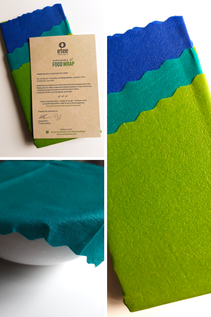 You can imagine my surprise to learn that there is a more sustainable way to wrap things in the kitchen, by using reusable and recyclable food wraps made out of beeswax and other organic ingredients. This article will focus on five benefits that can be achieved from using reusable food wraps, as well as my own personal opinion from trying out Etee Reusable Food Wraps for myself. #reusable #beeswax #plasticfree #organic