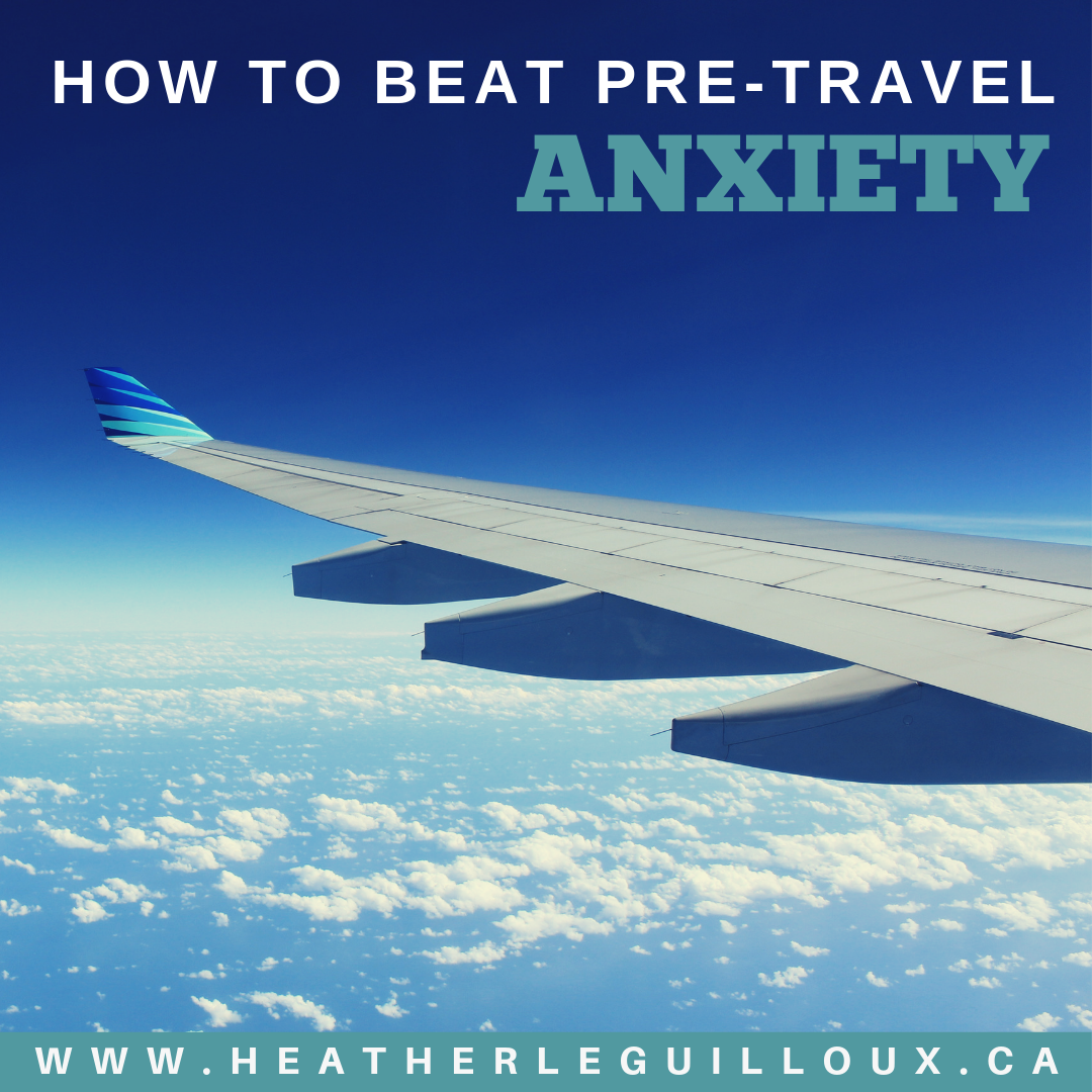 Pre-travel anxiety is quite common, but there are ways to get through this difficult experience, so that you feel more comfortable boarding that next plane on your next adventure. Read this guest post to find out how! #travel #anxiety #mentalhealth